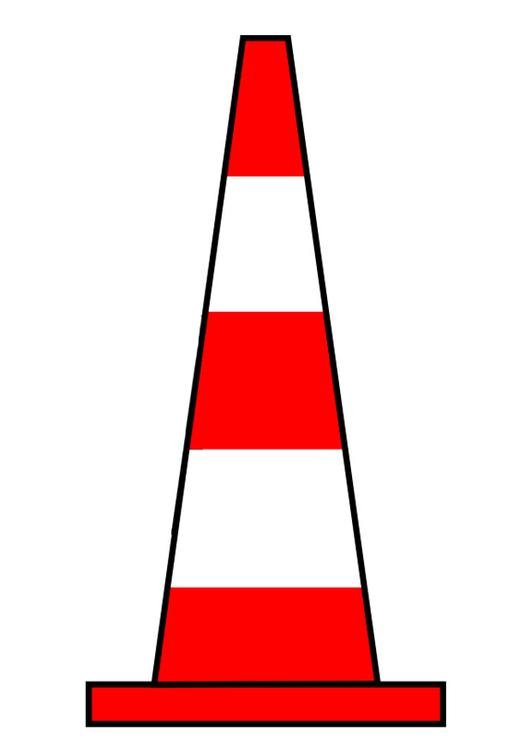 imagem cone de trânsito img 27181
