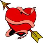 imagem Coração com flecha