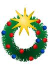 imagem coroa de Natal