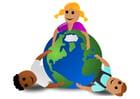 imagem crianças do mundo