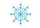 imagem cristal de gelo