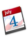 imagem Dia da Independência Americana
