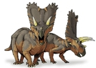 imagem dinossauro pentaceratops