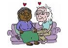 imagem envelhecer juntos