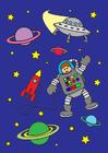 imagem espaço