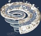 imagem espiral geológica