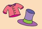 imagem esquina de roupa elegante