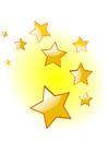 imagem estrelas de Natal
