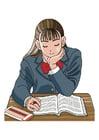 imagem fazer lição de casa
