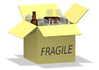 imagem frágil