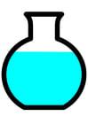imagem frasco de laboratório