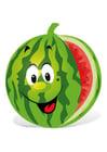 imagem fruta - melancia