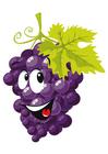 imagem fruta - uvas