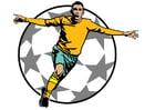 imagem gol de futebol