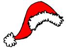 imagem gorro do Papai Noel