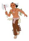 imagem índio em guerra