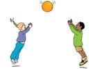 imagem jogar com bola