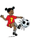 imagem jogar futebol