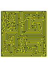 imagem labirinto - amarelo