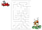 imagem labirinto - bombeiros