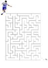 imagem labirinto - futebol