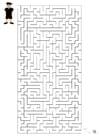 imagem labirinto futebol