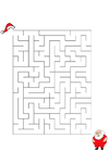 imagem labirinto - Papai Noel