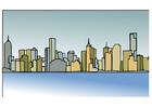 imagem linha do horizonte - Melbourne