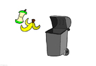 imagem lixo orgânico