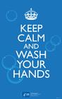 imagem mantenha a calma e lave as mãos