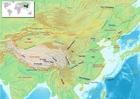 imagem mapa da China