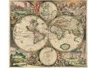 imagem mapa-mundi 1689