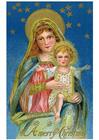 imagem Maria com Jesus