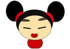 imagem menina chinesa