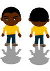 imagem menino negro