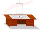 imagem mesa de escritório