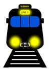 imagem metrô