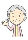 imagem mulher velha