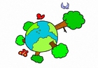 imagem natureza - clima - a terra