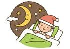 imagem noite - dormir