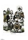 imagem nômades siberianos do século XIX