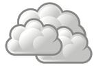 imagem nublado