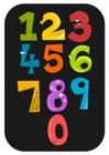 imagem números