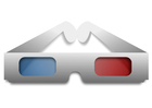 imagem óculos 3D