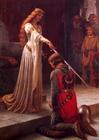 imagem ordenação de um cavaleiro