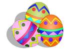 imagem ovos de Páscoa