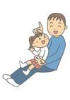 imagem pai e filha