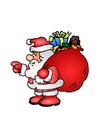 imagem Papai Noel com brinquedos