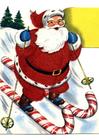 imagem Papai Noel de esqui