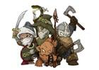 imagem personagens de fantasia